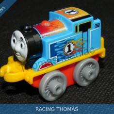 Fisher Price - Thomas and Friends Minis - trenulet jucarie RACING THOMAS, Metal, Unisex