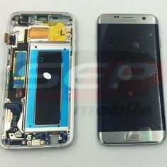 LCD+Touchscreen Samsung Galaxy S7 edge / SM-G935 SILVER original - Display LCD