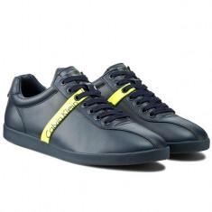 Adidasi barbati Calvin Klein Jeans_piele_in cutie_43_livrare gratuita, Culoare: Negru, Piele sintetica