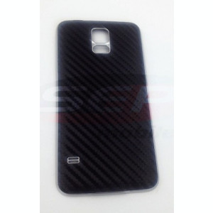 Capac baterie Samsung Galaxy S5 / G900 BLACK CARBON original