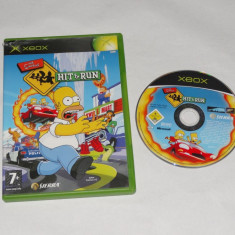 Joc Xbox Classic - The Simpsons Hit & Run - Jocuri Xbox Altele, Sporturi, 12+, Single player