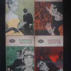 IWASZKIEWICZ - SLAVA SI FALA 4 volume {colectia BPT} - Roman, Anul publicarii: 1974
