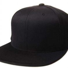 Sapca Simpla Personalizabila Neagra tip Full Cap. - Sapca Barbati, Marime: Marime universala, Culoare: Negru