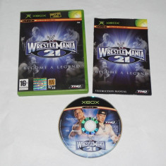 Joc Xbox Classic - Wrestle Mania 21 Become a Legend - Jocuri Xbox Altele, Actiune, 12+, Single player