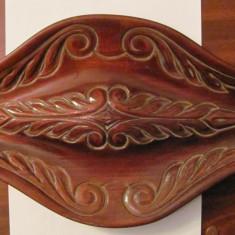 CY - Tava / obiect decorativ lemn frumoasa