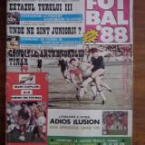 Revista  Fotbal 1988 SPORTUL STUDENTESC / R7P5