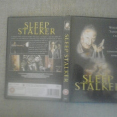 Sleep Stalker (1995) - DVD - Film thriller, Engleza