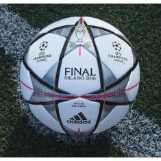 Minge de Fotbal Adidas Final Milano 2016 ORIGINALA - Minge fotbal Adidas, Champions League, Marime: 5
