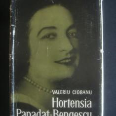 VALERIU CIOBANU - HORTENSIA PAPADAT BENGESCU