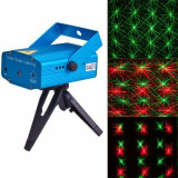 Laser disco lumini club Diferite Forme Jocuri de Lumini  PUNCTE ROSI + VERZI