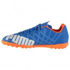 Adidasi Puma EvoSpeed 5 Originali Ghete fotbal teren gazon sintetic, Marime: 39, 44.5, Culoare: Albastru, Barbati, Asfalt: 1, Teren sintetic: 1