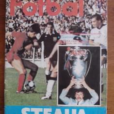 Revista  Fotbal STEAUA  1986 / R7P5