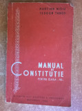 Martian Niciu si Teodor Tanco – Manual de constitutie pentru clasa a VII-a