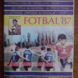 Revista  Fotbal 1987 SPORTUL STUDENTESC / R7P5