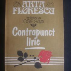 ARTA FLORESCU IN DIALOGUL CU IOSIF SAVA * CONTRAPUNCT LIRIC