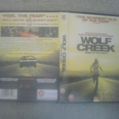 Wolf Creek (2005) - DVD - Film thriller, Engleza