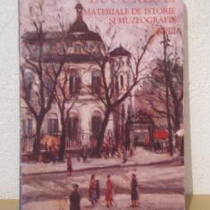 BUCURESTI - MATERIALE DE ISTORIE SI MUZEOGRAFIE XVIII - Carte Istorie
