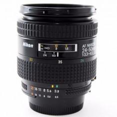 Vand obiectiv NIKON AF 24-50mm - Obiectiv DSLR Nikon, Autofocus, Minolta - Md