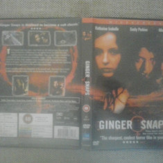 Ginger Snaps - WIDESCREEN (2000) - DVD - Film thriller, Engleza