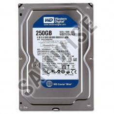 Hard Disk Desktop 250GB Western Digital Blue, SATA3, Testate cu GARANTIE!, 200-499 GB, Rotatii: 7200, 16 MB
