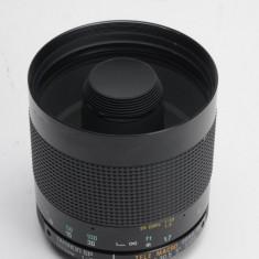 Vand obiectiv pe montura NIKON 500mm 8 TELE MACRO - Obiectiv DSLR Nikon, Macro (1:1), Minolta - Md