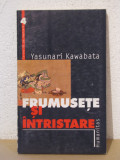 FRUMUSETE SI INTRISTARE- YASUNARI KAWABATA, Humanitas, 2000