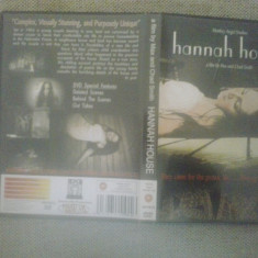 Hannah House (2002) - DVD - Film thriller, Engleza