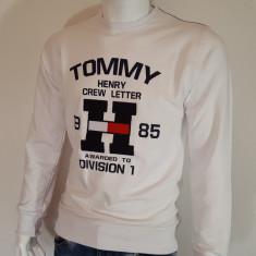 Bluza Tommy Hilfiger - Bluza barbati Tommy Hilfiger, Marime: S, Culoare: Alb
