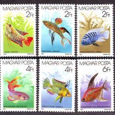 UNGARIA 1987, Fauna - Pesti, serie neuzata, MNH, Nestampilat