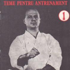 ADRIAN BUCUR - KARATE-DO TEME PENTRU ANTRENAMENT - Carte sport