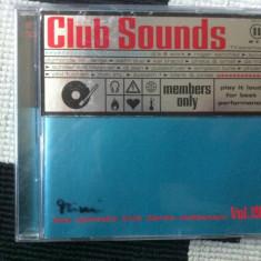 Club Sounds Vol 19 various compilatie dublu disc 2 cd 2001 muzica house trance