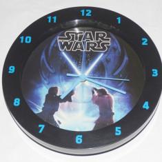 Ceas de perete Star Wars de colectie