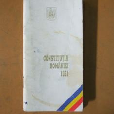 Constitutia Romaniei 1991 parlament guvern judecator presedinte autoritati