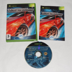 Joc Xbox Classic - Need for Speed Underground - Jocuri Xbox Altele, Actiune, 12+, Single player