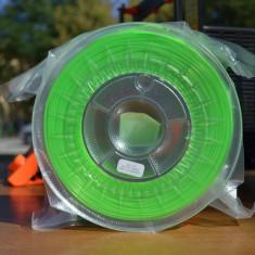 Filament PLA verde deschis semitransparent 100g - imprimanta 3D