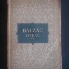 BALZAC - OPERE volumul 2 - Roman, Anul publicarii: 1956
