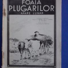 Foaia plugarilor  nr. 4-5 1938 (cresterea oilor Karakul) / C64P