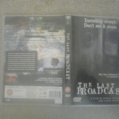 The last broadcast (1998) - DVD - Film thriller, Engleza