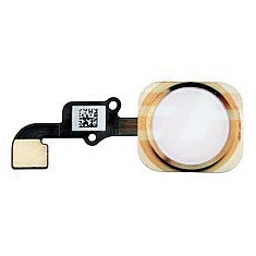Buton meniu+flex iPhone 6 gold original