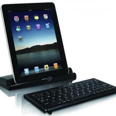Mini tastalura Macally Bluetooth + Stand tableta - Tastatura tableta