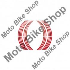 MBS Banda janta Foliatec, Racing, rosu, pentru 2 jenti, Cod Produs: 10010828LO - Rim streaps - benzi jante Moto