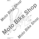 MBS Patina fixa distributie 2000 Suzuki DR-Z400 #2, Cod Produs: 1277129F00SU