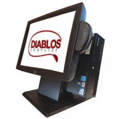 Sistem POS ELO ET 1522L cu MSR Lenovo M58 usff Dual Core E5400 - Monitor touchscreen