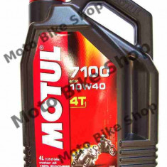 MBS Ulei Motul 7100 4T 10W40 4L, Cod Produs: 104092 - Ulei motor Moto