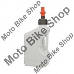 MBS Canistra benzina racing Tuff Jugg, alb, 20 L, Cod Produs: WURRAU