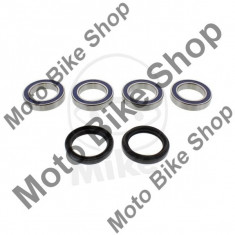 MBS Kit rulmenti + semeringuri roata spate Yamaha YFZ 450 S 5TG3 AJ11W 2004, Cod Produs: 7520464MA - Kit rulmenti roata spate Moto