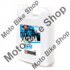MBS Ulei ATV 4T Ipone Katana ATV 5W40 100% Sintetic - JASO MA2 - API SM, 4L, Cod Produs: 800164IP - Ulei motor Moto