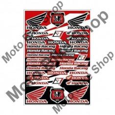 MBS Kit abtibilde universale BlackBird Honda, 35*50cm, Cod Produs: BB5076HAU
