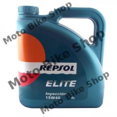MBS Ulei Repsol Injection 15W40 4L, Cod Produs: 843068 - Ulei motor Moto