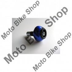 MBS Capeti AL ghidon, pentru interior ghidon 18mm, 75gr, albastru, Cod Produs: 136AL18BLLS - Capat ghidon Moto